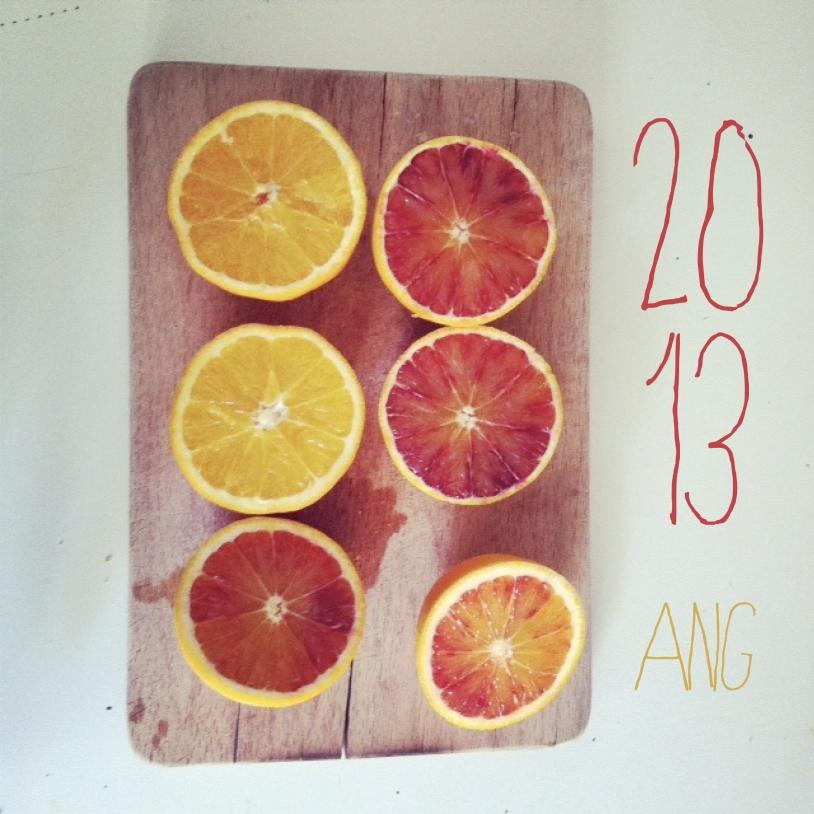ANGWORLD: ARANCIO 2013