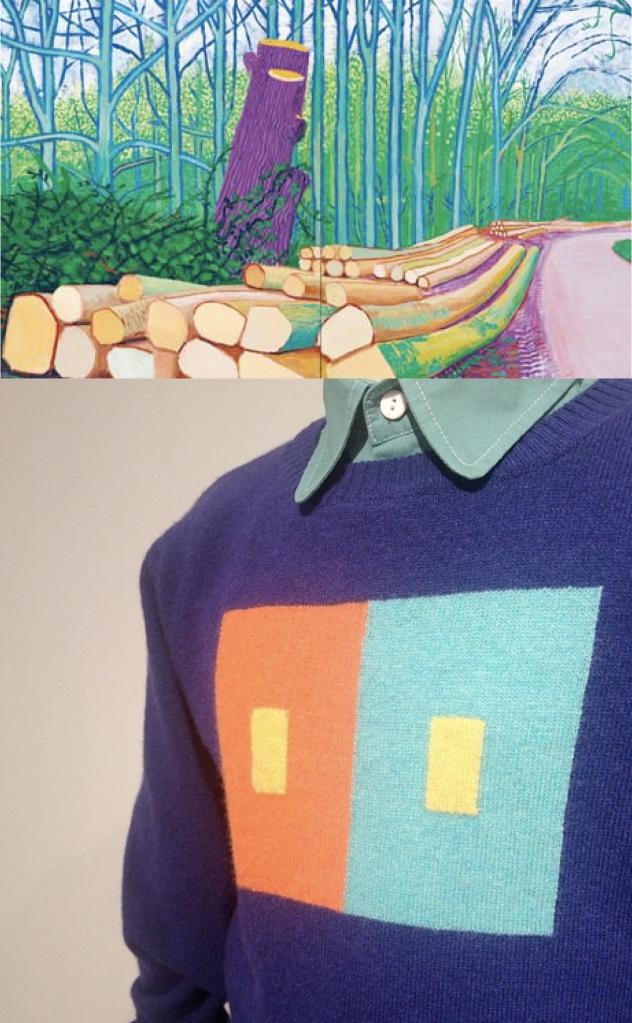 Quis Quis Aw14 - David Hockney, Landscape
