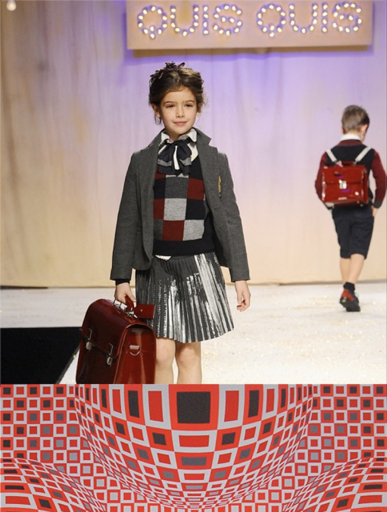 Quis Quis Aw14 - Victor Vasarely, Four Globes in Red