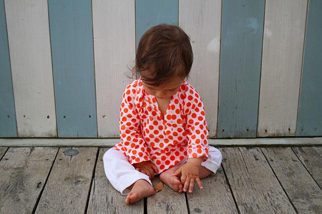 Caftano Ang un bebè - Pantaloni Kangra
